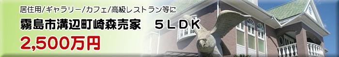 霧島市溝辺町崎森売家 5LDK